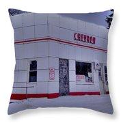 Chevron Lowville Ny Throw Pillow
