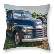 Chevy 1100 Throw Pillow