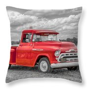 Chevy 3100   7d05235 Throw Pillow