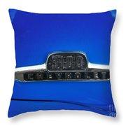 Chevy 3100 Emblem Throw Pillow