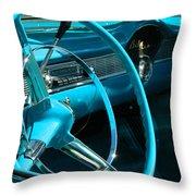 Chevy Bel Air Interior  II Throw Pillow