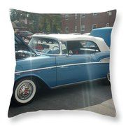 Chevy Belair Throw Pillow