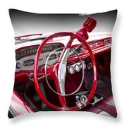 Chevy Biscayne Throw Pillow