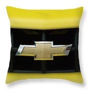 Chevy Camero Emblem 01 Throw Pillow