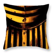 Chevy Grill Throw Pillow