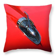 Chevy Hood Throw Pillow