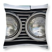 Chevy Lights Throw Pillow