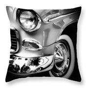 Chevy Lines Throw Pillow