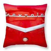 Chevy Logo 1957 Throw Pillow