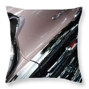 Chevy Throw Pillow by Michelle Calkins