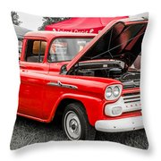 Chevy Stock Throw Pillow