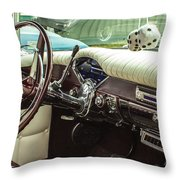 Chevy Style Throw Pillow