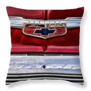 Chevy Truck Logo Vintage Throw Pillow