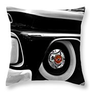 Chevy Truckin Throw Pillow
