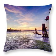 Chevy's Sunset Throw Pillow