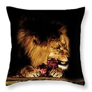 Chew On That Throw Pillow