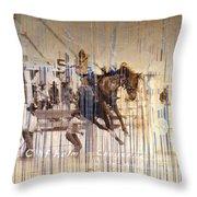 Cheyenne Spurs Throw Pillow