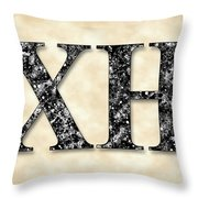 Chi Heorot - Parchment Throw Pillow