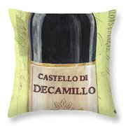 Chianti And Friends Panel 2 Throw Pillow