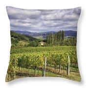 Chianti Country Throw Pillow