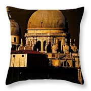 Chiaroscuro Venice Throw Pillow