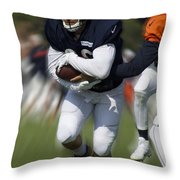 Chicago Bears Training Camp 2014 Moving The Ball 05 Throw Pillow