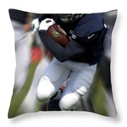 Chicago Bears Training Camp 2014 Moving The Ball 07 Throw Pillow