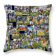Chicago Bears Training Camp 2014 Pa 02 Throw Pillow