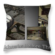 Chicago Blackhawks Before The Gates Open Interior 2 Panel Sb 01 Throw Pillow