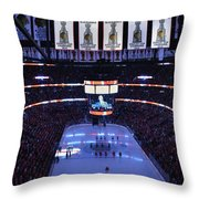 Chicago Blackhawks Please Stand Up Throw Pillow