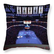Chicago Blackhawks Please Stand Up With Red Text Sb Throw Pillow
