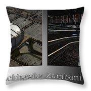 Chicago Blackhawks Zamboni Break Time 2 Panel Sb Throw Pillow