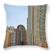 Chicago - Chi-town - Chitown - The City Beautiful Throw Pillow
