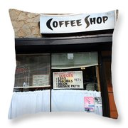 Chicago Storefront 2 Throw Pillow