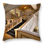 Chicago Cultural Center Throw Pillow