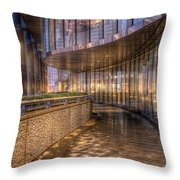 Chicago Curves Throw Pillow