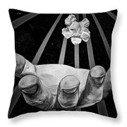 Chicago Graffiti Throw Pillow by Christine Till
