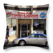 Chicago Storefront 3 Throw Pillow