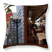 Chicago Macys Department Store 2 Panel Throw Pillow