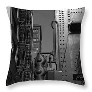 Chicago My Favorite City 4 Throw Pillow