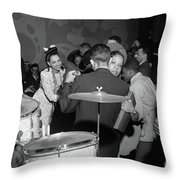 Chicago Nightclub, 1942 Throw Pillow