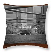 Chicago Pritzker Music Pavillion Sc Triptych 3 Panel Throw Pillow