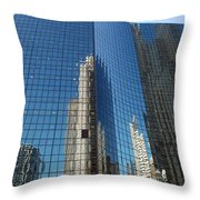 Chicago Reflections Throw Pillow