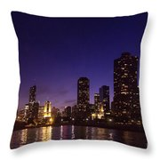 Chicago Skyline Vi Throw Pillow
