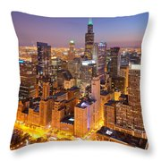 Chicago Southwest 2 Throw Pillow