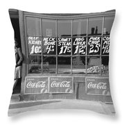 Chicago Store, 1941 Throw Pillow