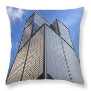 Willis Tower Throw Pillow