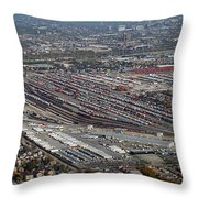 Chicago Transportation 01 Throw Pillow