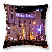 Chicago Tribune  Throw Pillow