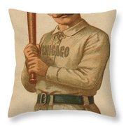 Chicago White Stockings 1887 Throw Pillow